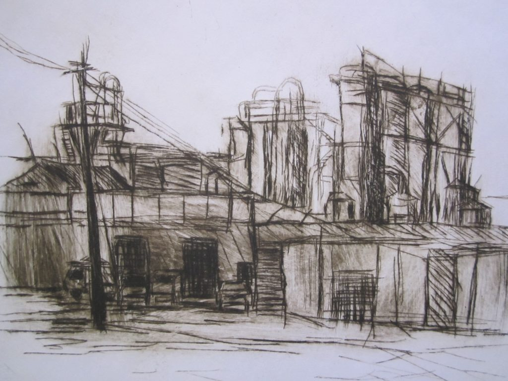 Factory-drypoint