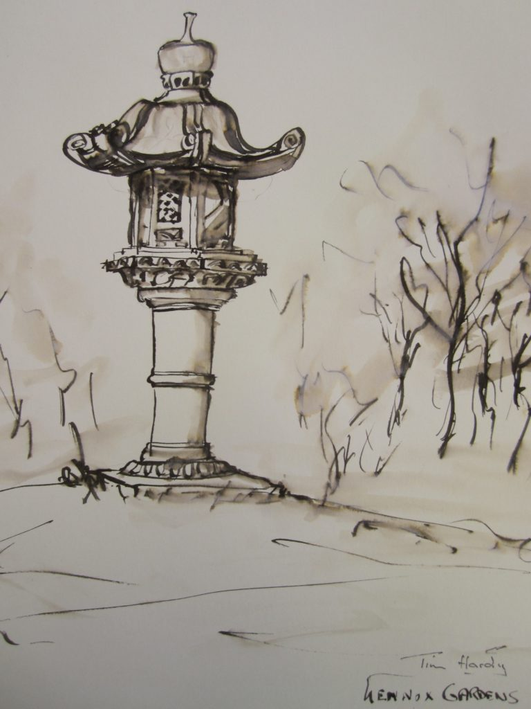 Lennox-Gardens-reed-pen-and-wash-1