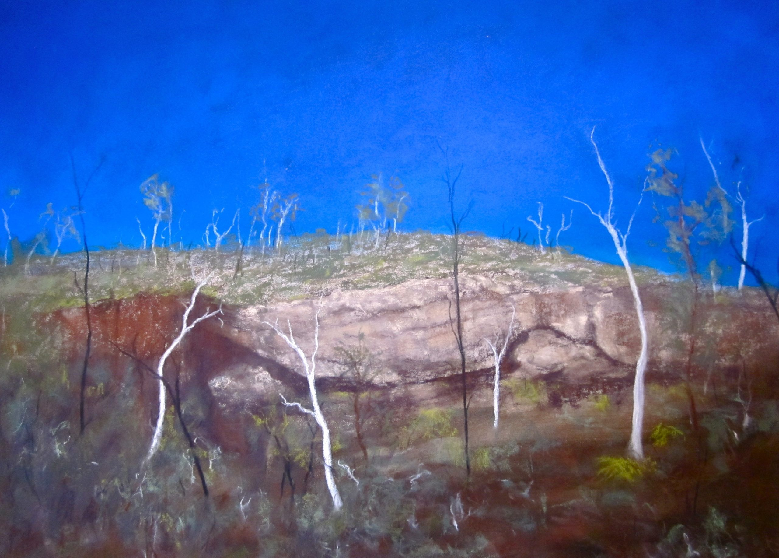Gully Blue Mountains-pastels