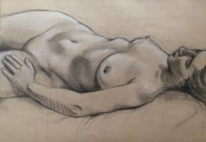 Weekend workshop: Life drawing and acrylics with Leigh D Walker