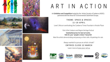 Art In Action Space & Spaces Apr 19